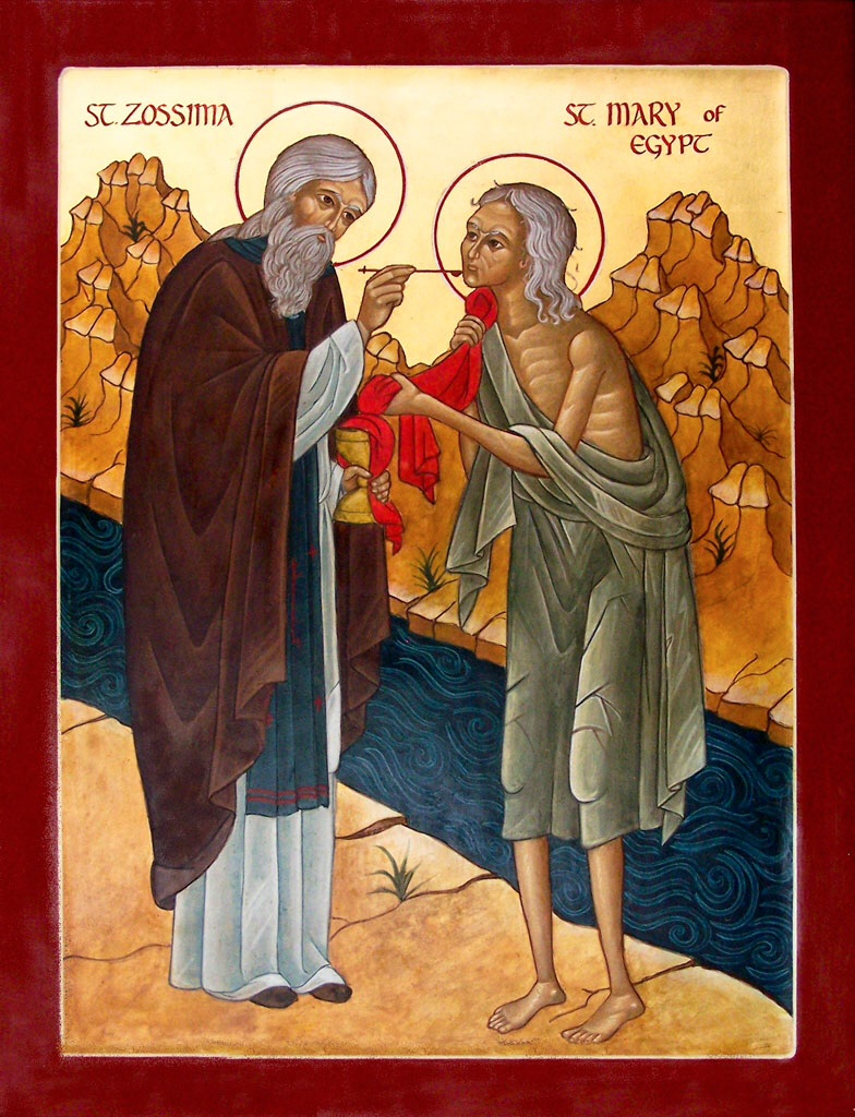 St. Mary of Egypt and St. Zossima
